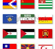 Ghost Nation's,   countries that's not officially recognized by United Nation