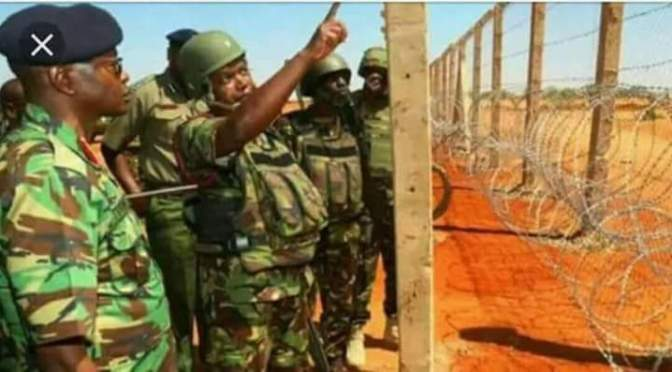 Kenya has resumed the construction of the 435-mile wall along its porous border with Somalia