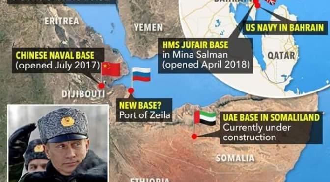 La Russie «pour établir la base de Somaliland» comme Poutine complote la suprématie navale