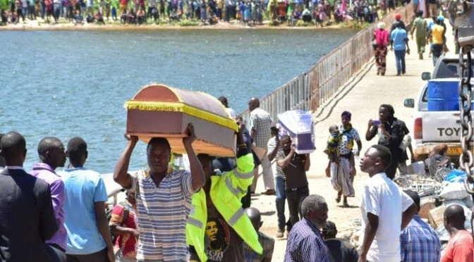 Families bury victims as #Tanzania ferry disaster toll passes 225