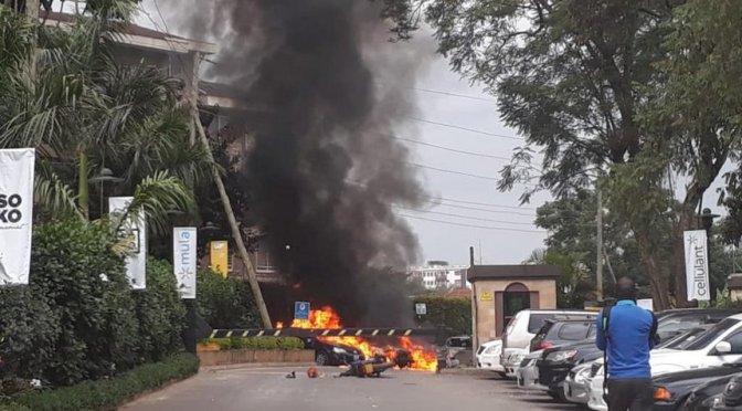 Nairobi attack Hotel complex