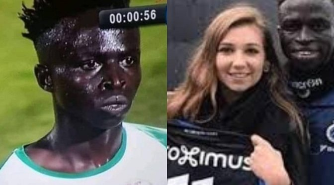 Senegalese footballer hits back at Africans for making fun of his looks