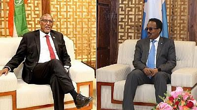 Leaders of Somalia, Breakaway Somaliland Meet for First Time