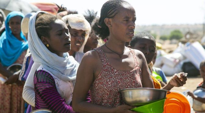 More than 350,000 suffering from famine conditions in Ethiopia's Tigray, says UN