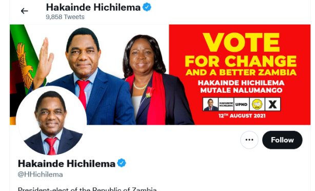 Zambian Opposition's Hichilema Declared Winner of Election