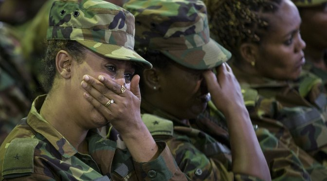 Ethiopian Troops Accused of Rape as Abiy Asks Civilians to Fight