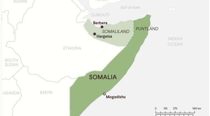 China's Worldwide Expansion Plan Stops in Somaliland